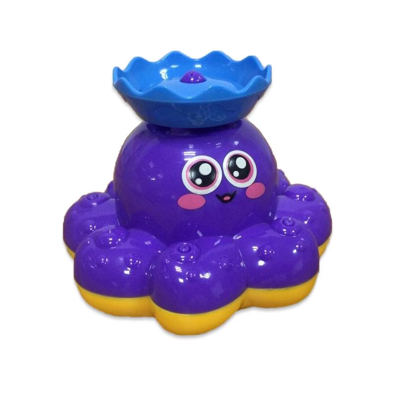 Осьминог для ванной, 3 вида , в коробке – Веселое купание от Toyway