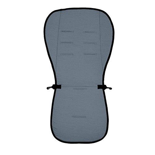 Матрасик вкладыш из ткани Lifeline Polyester с покрытием 3D Mesh, размер 83 x 42 см., цвет темно-серыйАксессуары к коляскам<br>Матрасик вкладыш из ткани Lifeline Polyester с покрытием 3D Mesh, размер 83 x 42 см., цвет темно-серый<br>