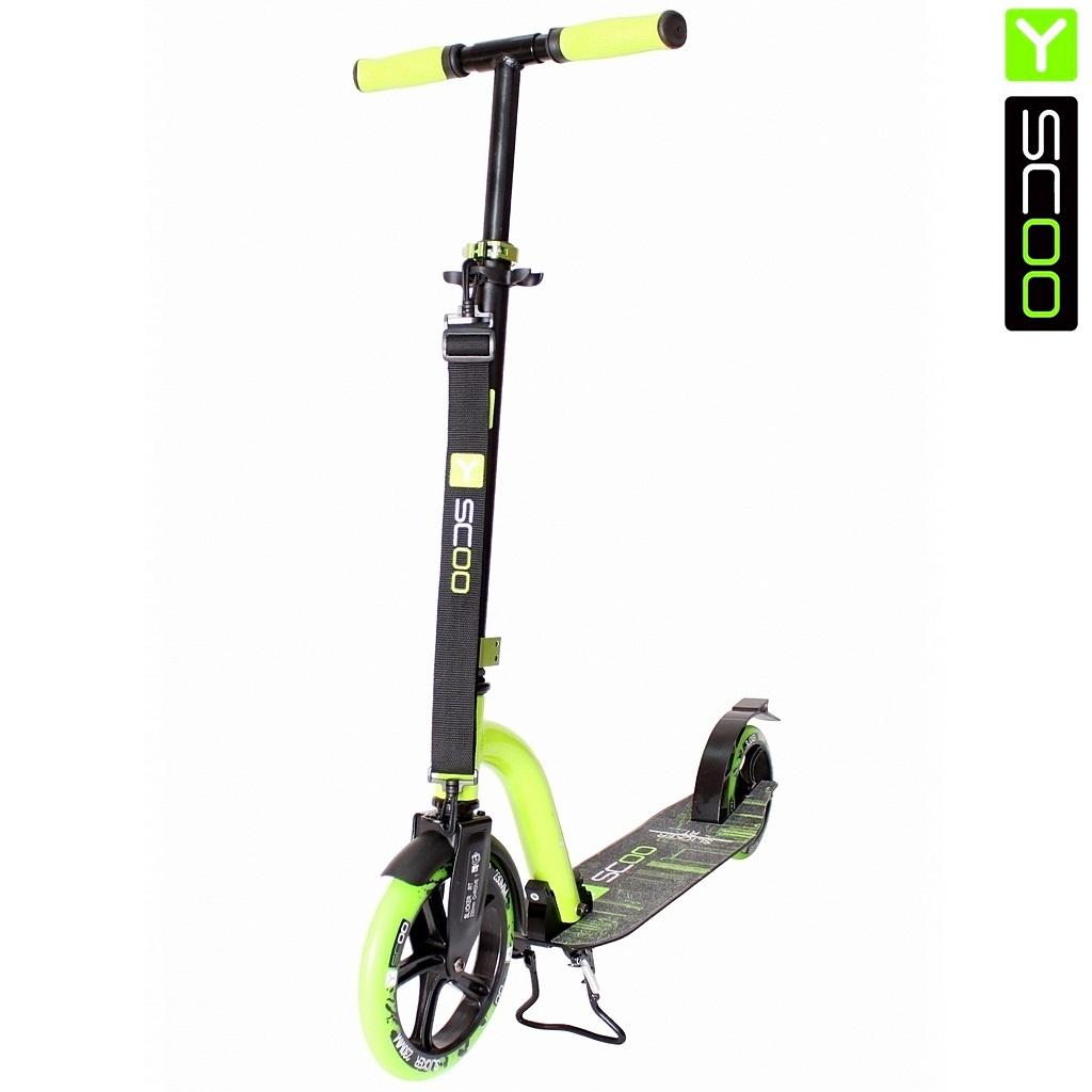 Купить Самокат Y-Scoo RT 230 Slicker New Technology, зеленый
