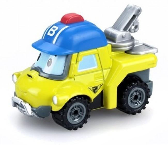 Металлическая машинка Баки из серии «Робокар Поли», 6 см.Robocar Poli. Робокар Поли и его друзья<br>Металлическая машинка Баки из серии «Робокар Поли», 6 см.<br>