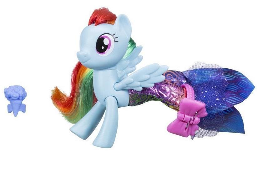 My Little Pony. The Movie. Мерцание - Радуга Дэш с аксессуарамиМоя маленькая пони (My Little Pony)<br>My Little Pony. The Movie. Мерцание - Радуга Дэш с аксессуарами<br>