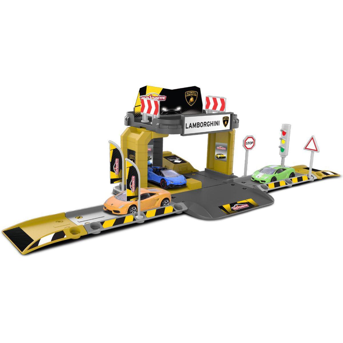 Парковка базовая Creatix Lamborghini с машинкой - Детские парковки и гаражи, артикул: 170624