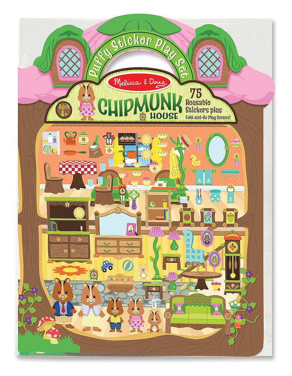 Набор стикеров «Дом хомячка» с фоновыми рисункамиНаклейки<br>Набор стикеров «Дом хомячка» с фоновыми рисунками<br>