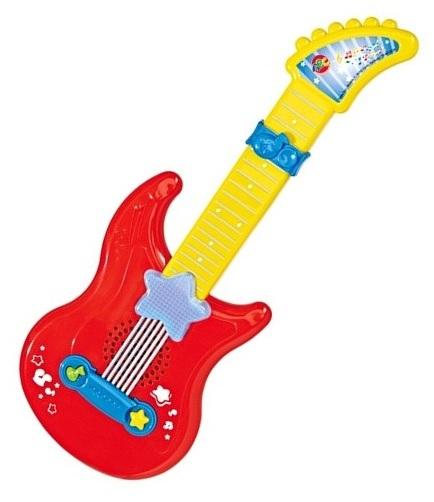 Гитара со светом и звуком - Гитары, артикул: 64100