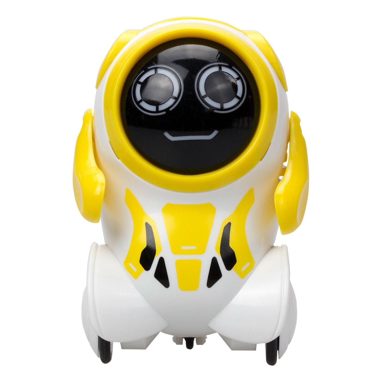 Купить Робот Покибот, желтый круглый, Silverlit