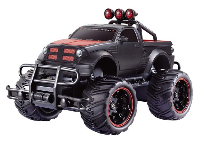Машина на радиоуправлении - Внедорожник, 1:20, черный/красныйМашины на р/у<br>Машина на радиоуправлении - Внедорожник, 1:20, черный/красный<br>