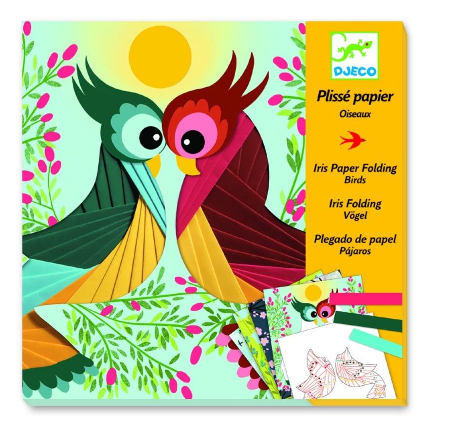 Купить Набор для творчества Бумажный декор - Птички, Djeco