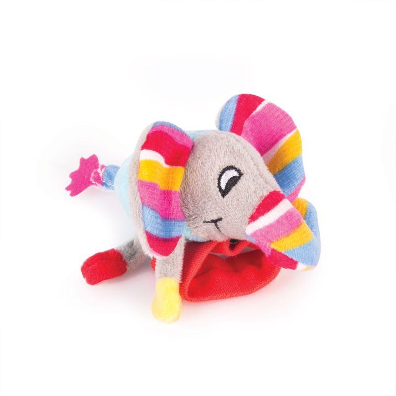 Купить Игрушка-погремушка на ручку - Слоненок Джамбо, Happy Snail