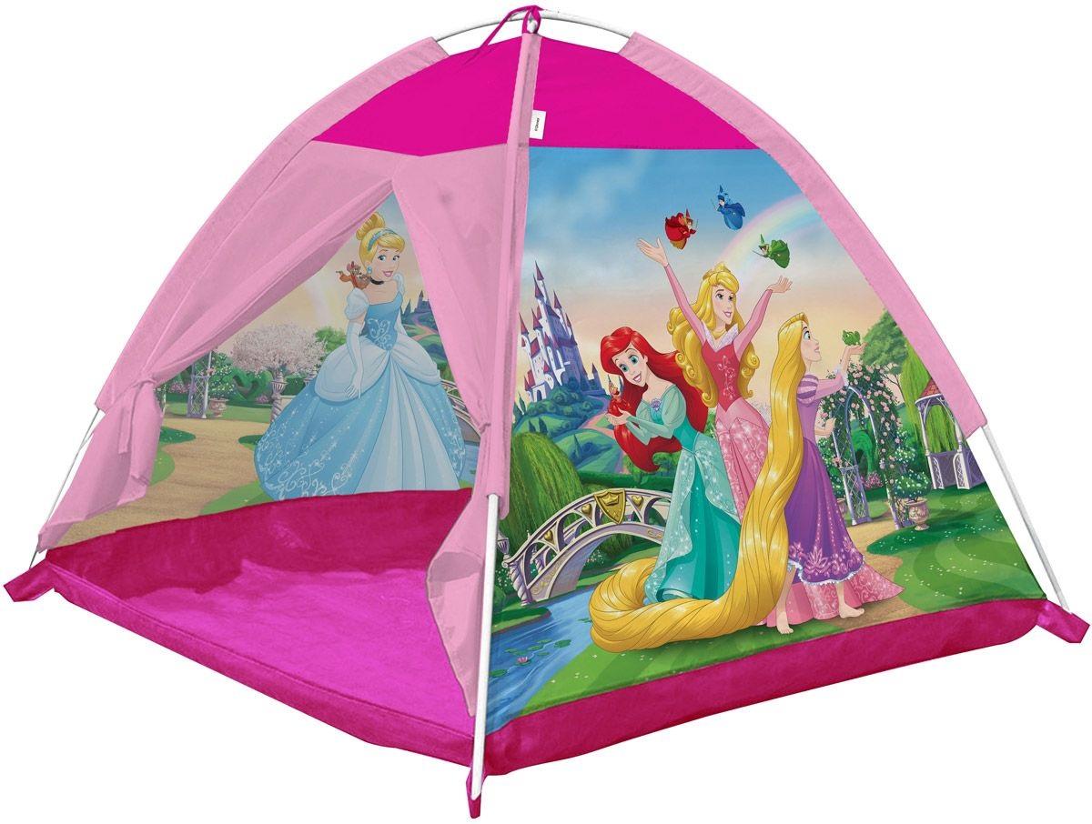 Игровая палатка из серии Принцессы Дисней, размер 112 х 112 х 84 см.Домики-палатки<br>Игровая палатка из серии Принцессы Дисней, размер 112 х 112 х 84 см.<br>