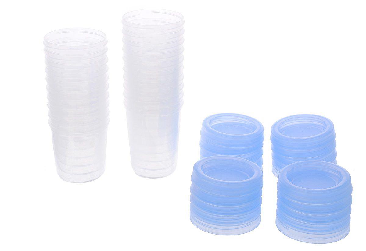 Набор контейнеров для детского питания, 10 шт. по 180 мл и 10 шт. по 240 мл.  SCF721/20 Avent Philips