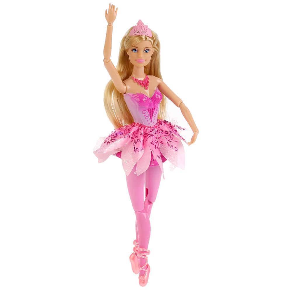 Кукла София балерина 29 см., с диадемой, Карапуз  - купить со скидкой
