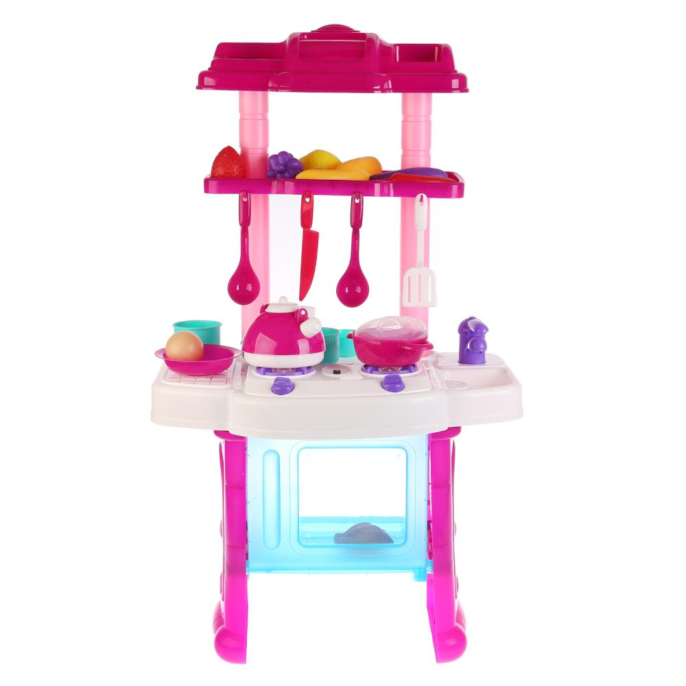 Купить Игровой набор - Кухня с аксессуарами, свет, звук