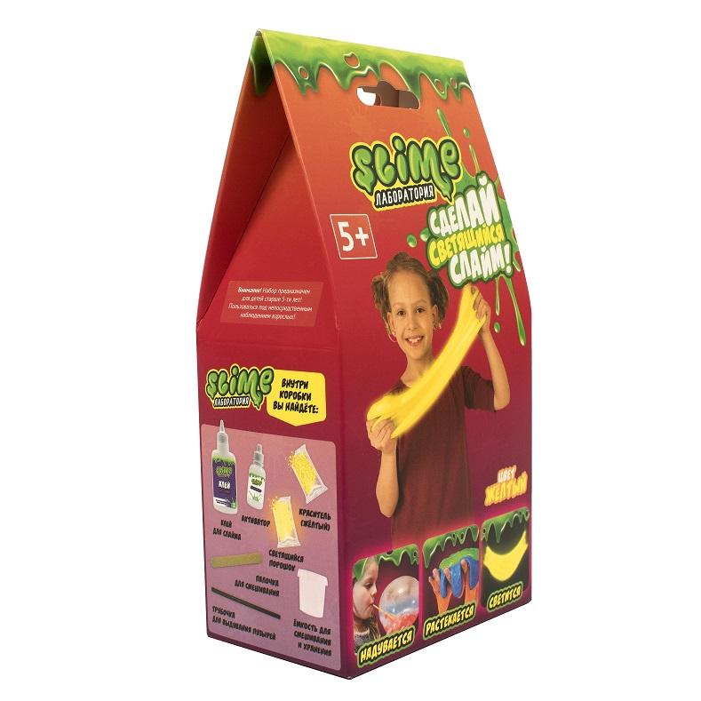 Купить Набор для девочек малый из серии Slime Лаборатория, желтый, 100 гр.