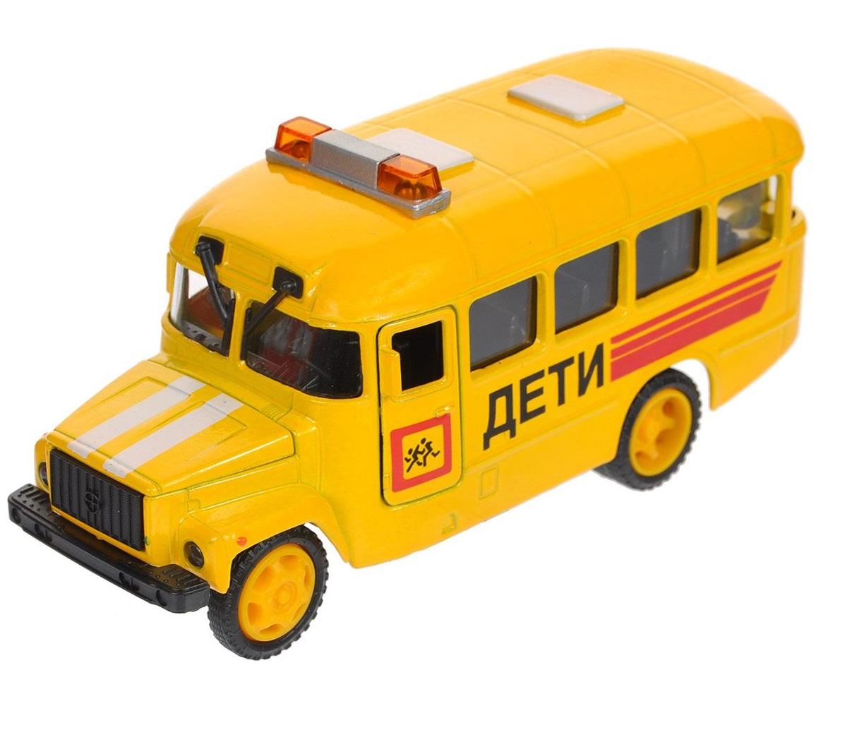Машина металлическая инерционная - КАВЗ – Дети, со светом и звукомГородская техника<br>Машина металлическая инерционная - КАВЗ – Дети, со светом и звуком<br>