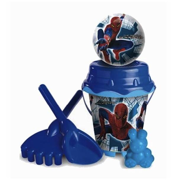 Песочный набор Спайдермен 4 с мячомВсе для песочницы<br>Песочный набор Спайдермен 4 с мячом<br>