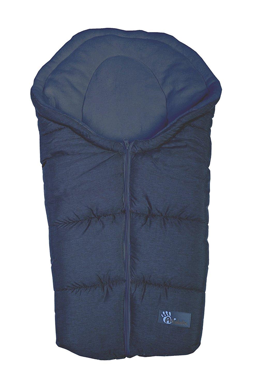 Купить Зимний конверт Alpin Pram & Car seat, navy/blue, Altabebe