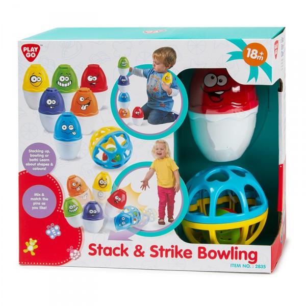 Развивающая игрушка - БоулингРазвивающие игрушки PlayGo<br>Развивающая игрушка - Боулинг<br>