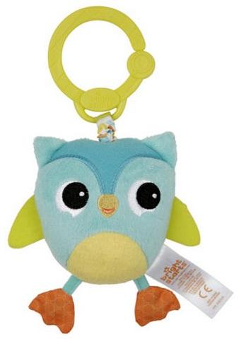 Развивающая игрушка  Дрожащий дружок , Сова - Детские погремушки и подвесные игрушки на кроватку, артикул: 97353