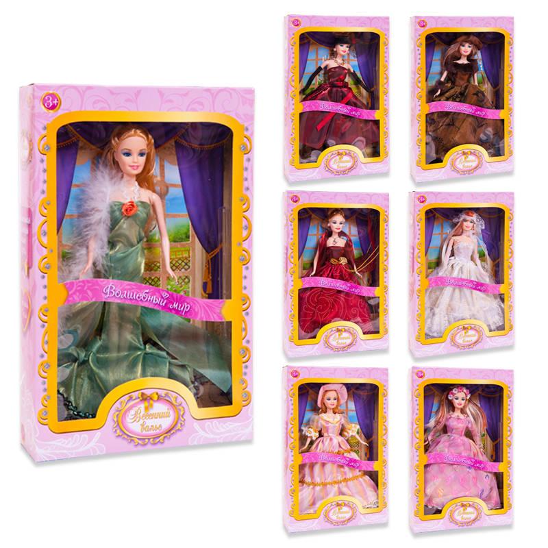 Кукла из серии Весенний вальс, 7 видов, в коробкеПупсы<br>Кукла из серии Весенний вальс, 7 видов, в коробке<br>