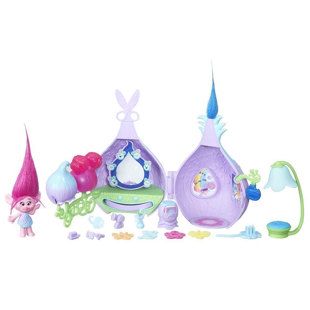 Игровой набор - Салон красоты ТроллейТролли игрушки<br>Игровой набор - Салон красоты Троллей<br>