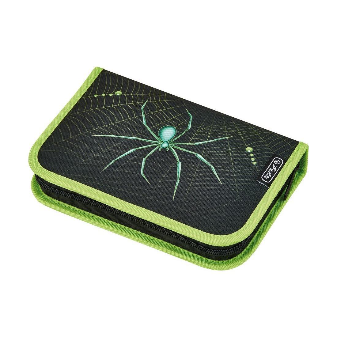 Купить Пенал - Spider, с наполнением, 31 предмет, Herlitz