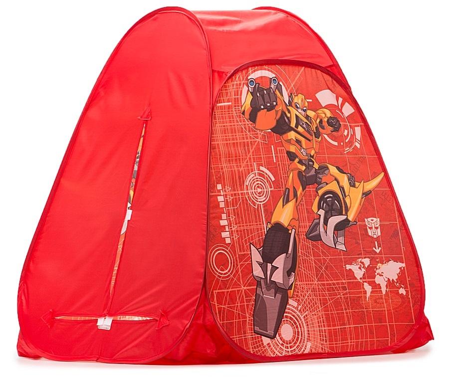 Детская игровая палатка Transformers, в сумкеДомики-палатки<br>Детская игровая палатка Transformers, в сумке<br>