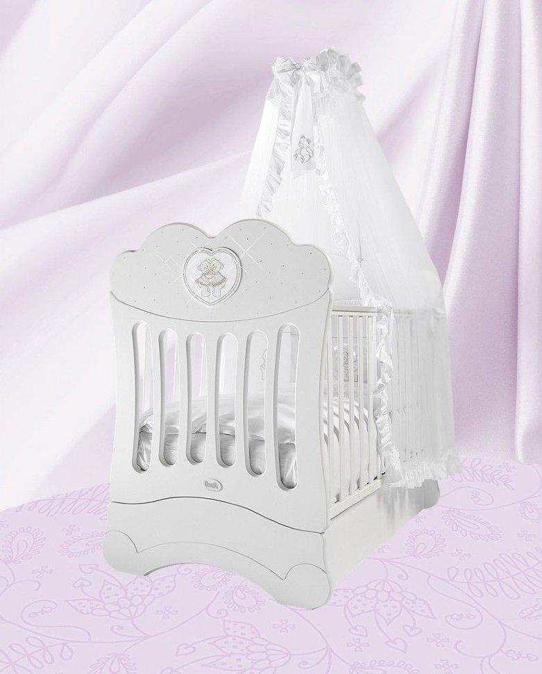 Кровать детская Fms Chaton BiancoДетские кровати и мягкая мебель<br>Кровать детская Fms Chaton Bianco<br>
