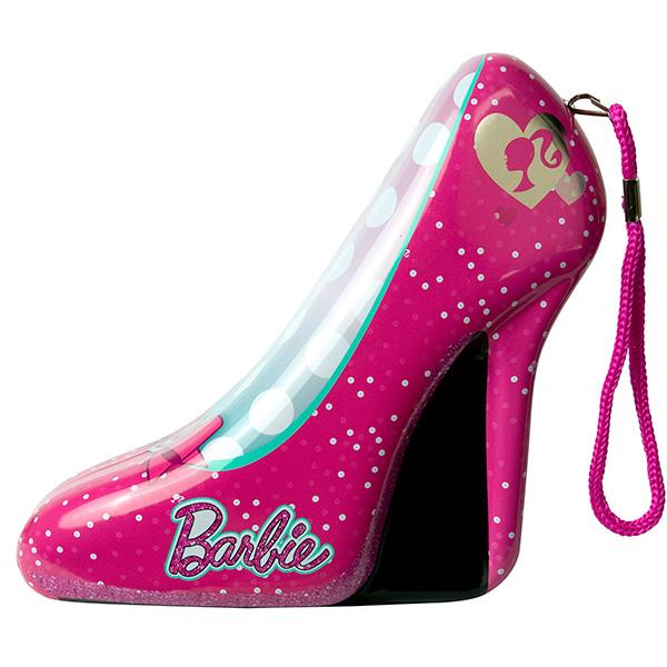 Набор детской декоративной косметики из серии Barbie, в розовой туфелькеЮная модница, салон красоты<br>Набор детской декоративной косметики из серии Barbie, в розовой туфельке<br>