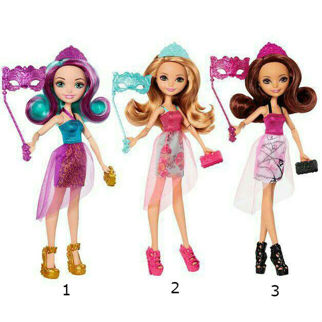 Куклы из серии Ever After High День коронации, 3 видаКуклы Ever After High и Monster High<br>Куклы из серии Ever After High День коронации, 3 вида<br>