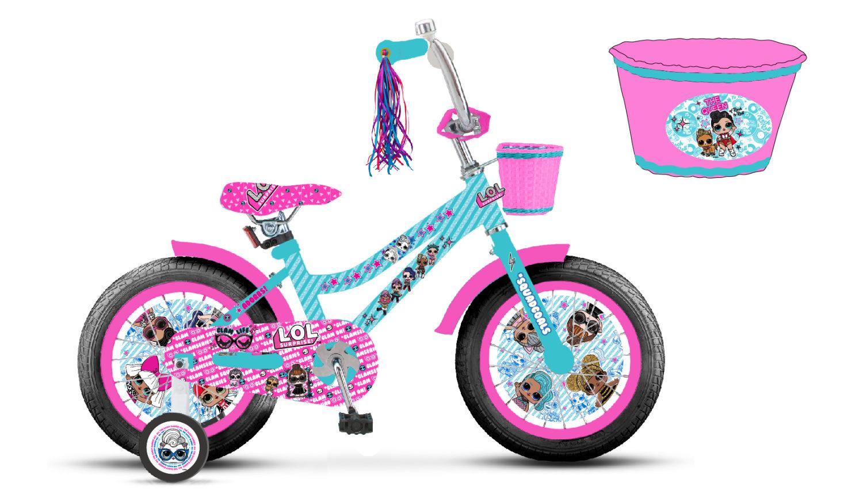 """Детский велосипед – LOL, колеса 12"""""""