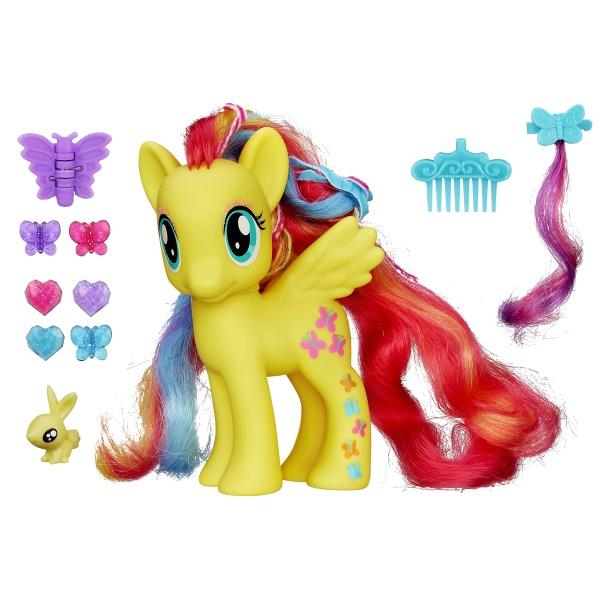 Пони-модница Делюкс ФлаттершайМоя маленькая пони (My Little Pony)<br>Пони-модница Делюкс Флаттершай<br>