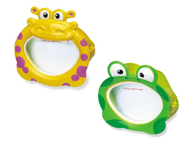 Детская маска для плавания - Бегемот/лягушкаМаски, ласты, трубки для плавания<br>Детская маска для плавания - Бегемот/лягушка<br>