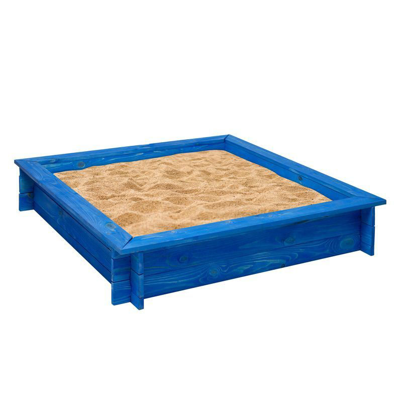 Деревянная песочница – Одиссей, синий - Детские песочницы, артикул: 160383