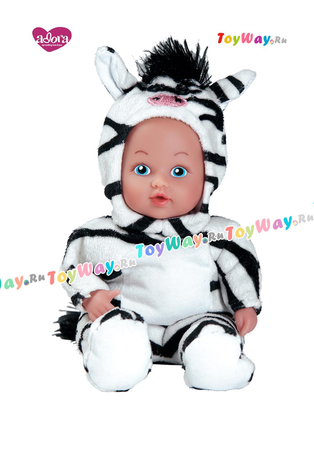 Кукла - Зебра, 20 смКуклы Адора<br>Кукла - Зебра, 20 см<br>