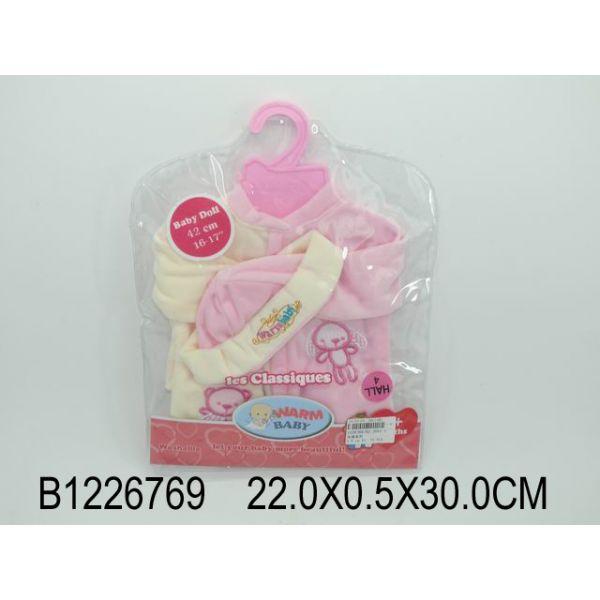 Комплект одежды для куклы, кофта и шапкаОдежда для кукол<br>Комплект одежды для куклы, кофта и шапка<br>