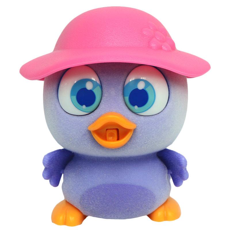 Brix`N Clix Интерактивная игрушка Пингвиненок в шляпе Пи-ко-ко