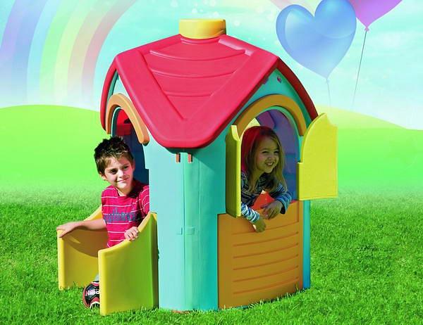Детский игровой домик. ВиллаПластиковые домики для дачи<br>Детский игровой домик. Вилла<br>