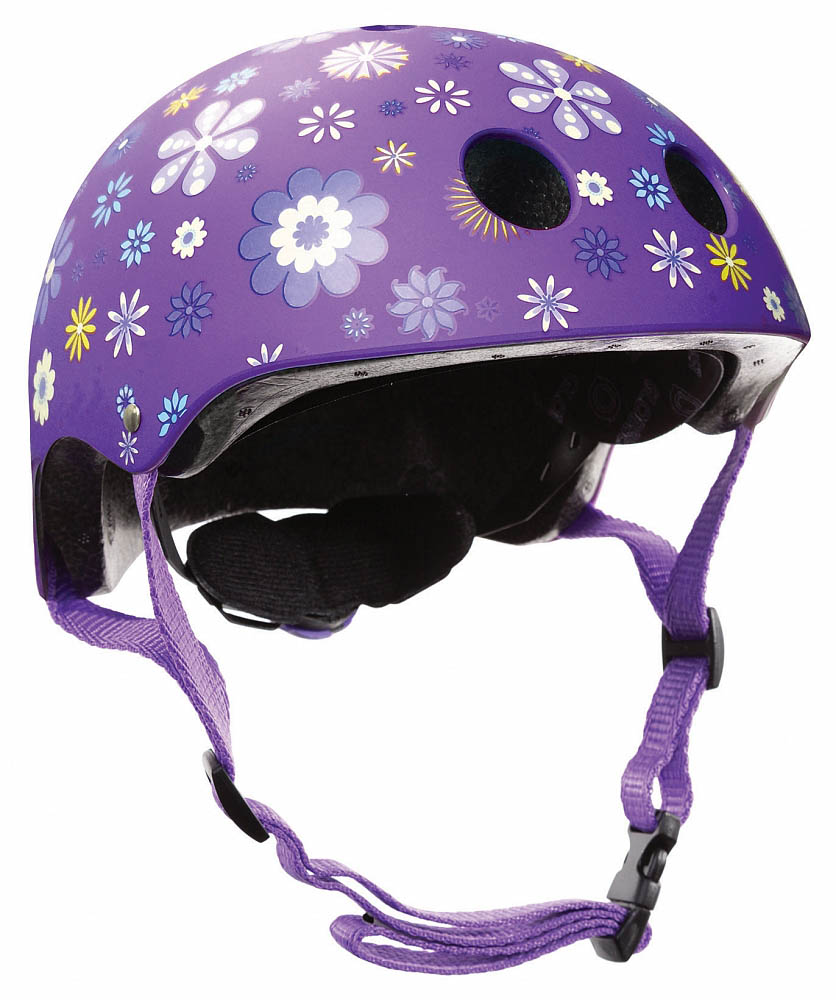 Купить Шлем - Globber Printed Junior, XS/S, 51-54 см, фиолетовый