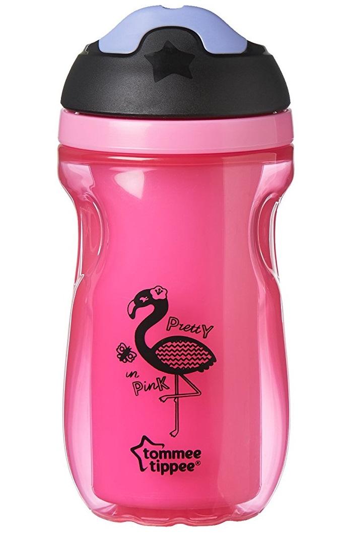 Термочашка с мягким носиком Explora, розоваяБутылочки<br>Термочашка с мягким носиком Explora, розовая<br>
