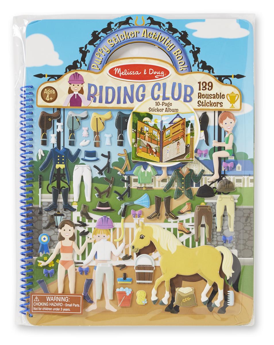 Набор делюкс со стикерами и сценами «Конный клуб» - Детский Досуг, артикул: 138553