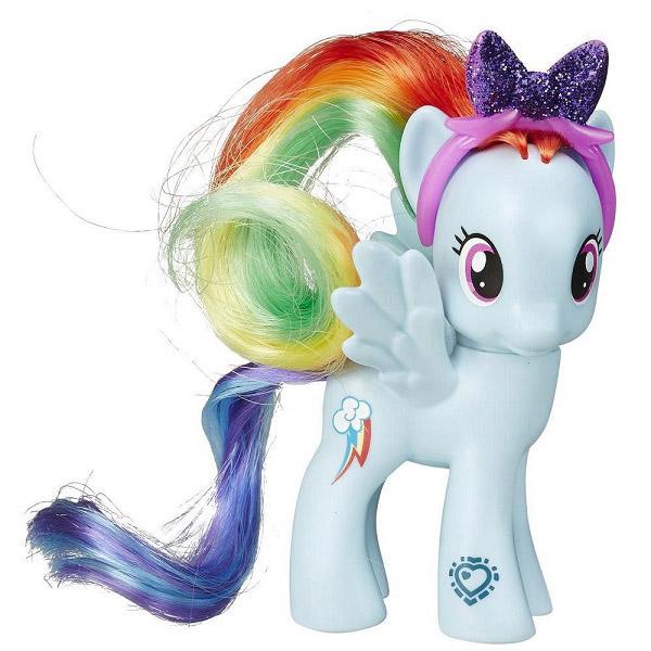 Фигурка пони из серии My Little Pony - Рейнбоу ДэшМоя маленькая пони (My Little Pony)<br>Фигурка пони из серии My Little Pony - Рейнбоу Дэш<br>