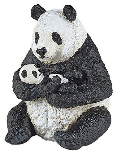 Игровая и коллекционная фигурка - Сидящая панда с детенышемДикая природа (Wildlife)<br>Игровая и коллекционная фигурка - Сидящая панда с детенышем<br>
