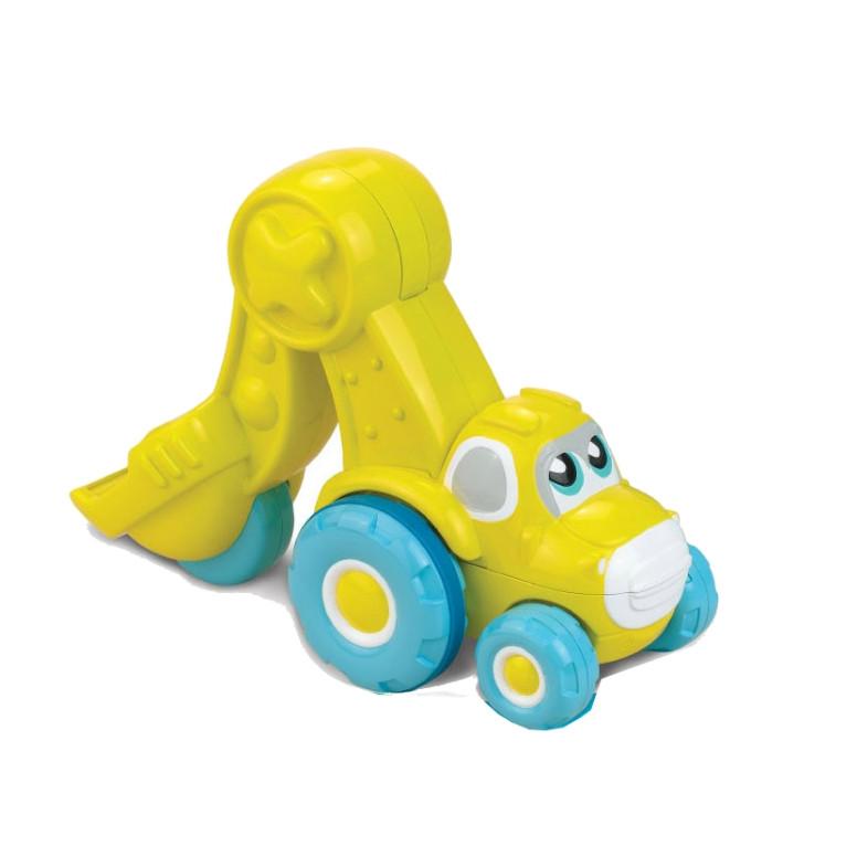 Интерактивная игрушка - Экскаватор желтый из серии - Нажми и поедетМашинки для малышей<br>Интерактивная игрушка - Экскаватор желтый из серии - Нажми и поедет<br>
