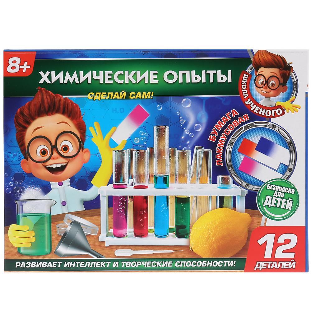 Купить Набор из серии Школа ученого - Химические опыты, Играем вместе