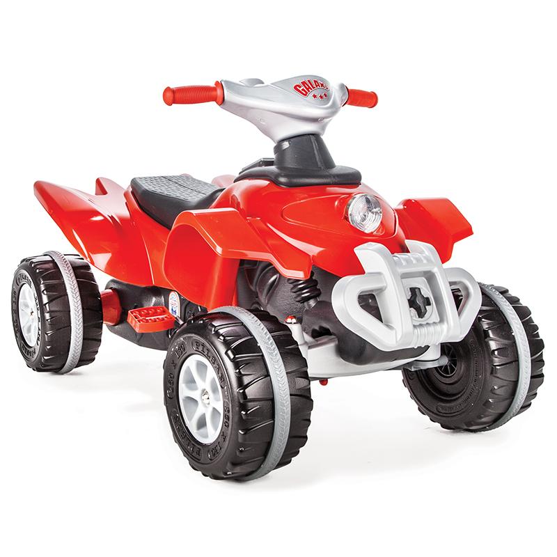 Педальная машина - Квадроцикл GalaxyПедальные машины и трактора<br>Педальная машина - Квадроцикл Galaxy<br>