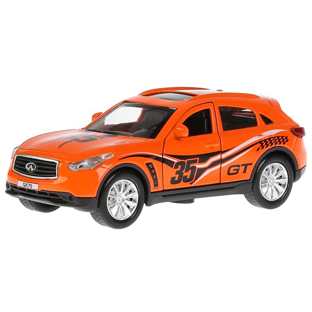 Купить Модель Infiniti QX70 спорт, 12 см, открываются двери, инерционная, Технопарк
