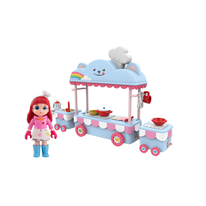 Rainbow Ruby. Игровой набор - Кафе на колесах.
