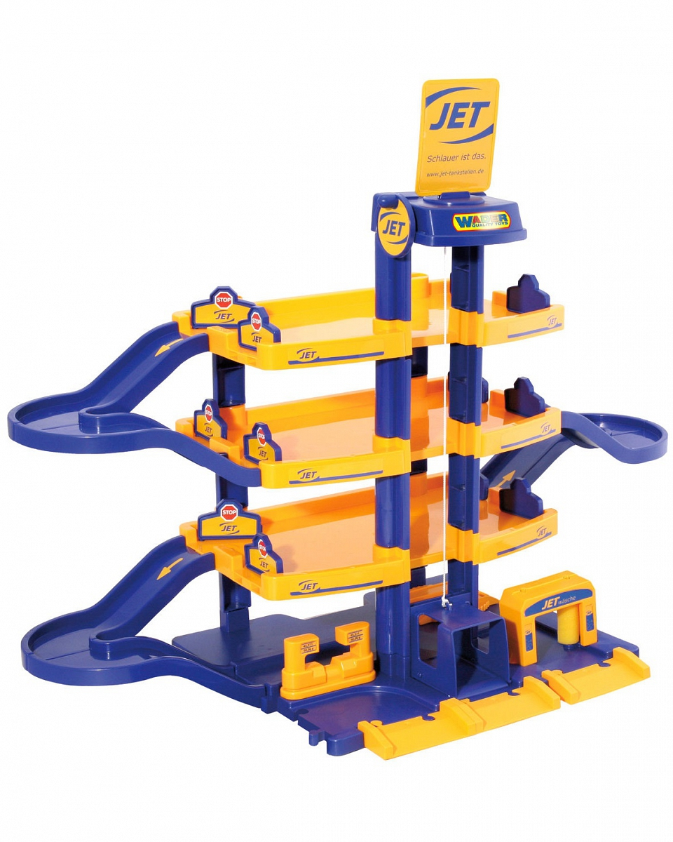 Паркинг – Jet, 4-уровневыйДетские парковки и гаражи<br>Паркинг – Jet, 4-уровневый<br>