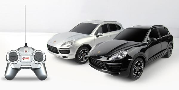 картинка Rastar Porsche Cayenne Turbo на радиоуправлении от магазина Bebikam.ru