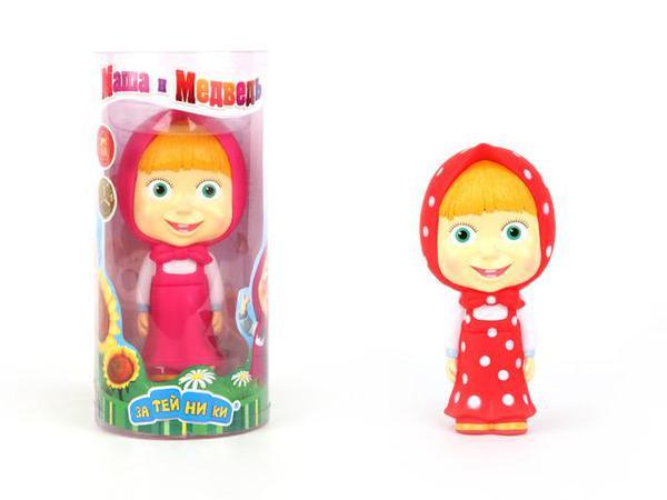 Пластизоливая игрушка - Маша и Медведь. МашенькаИгрушки для ванной<br>Пластизоливая игрушка - Маша и Медведь. Машенька<br>